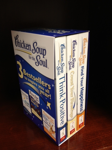 Boxed set of Chicken Soup bestsellers at Walmart 2012