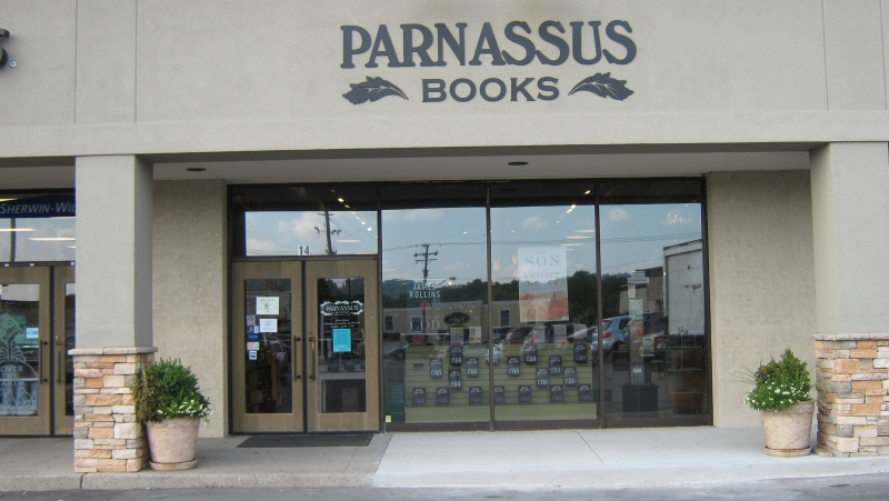 Book signing at Parnassus Books July 23 at 6:30